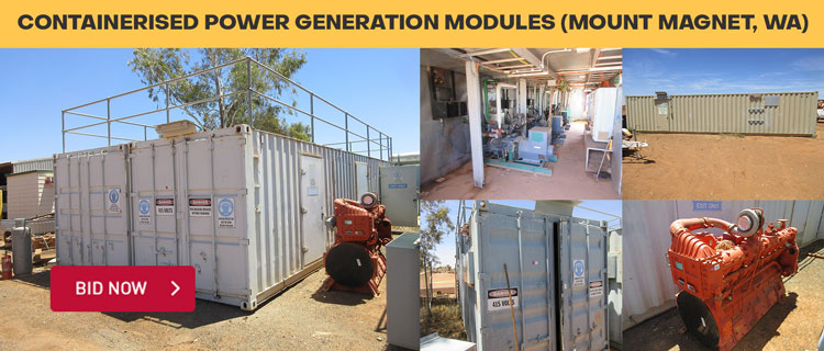 Containerised Power Generation Modules (Mount Magnet, WA)