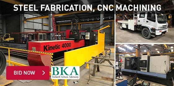 Steel Fabrication, CNC Machining