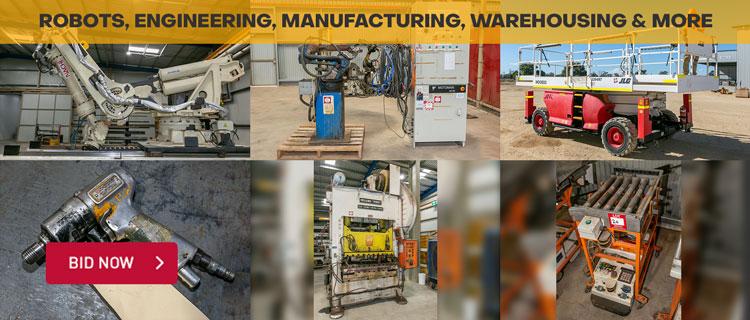Robots, Engineering, Manufacturing, Warehousing & More