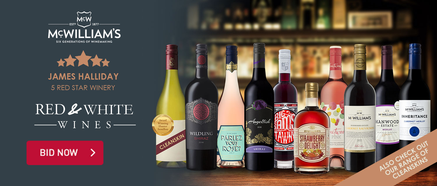 McWilliam's Red & White Wines