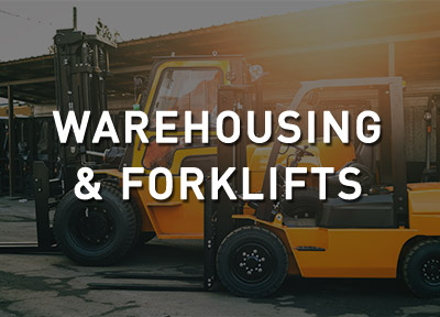 Warehouse and Forklifts