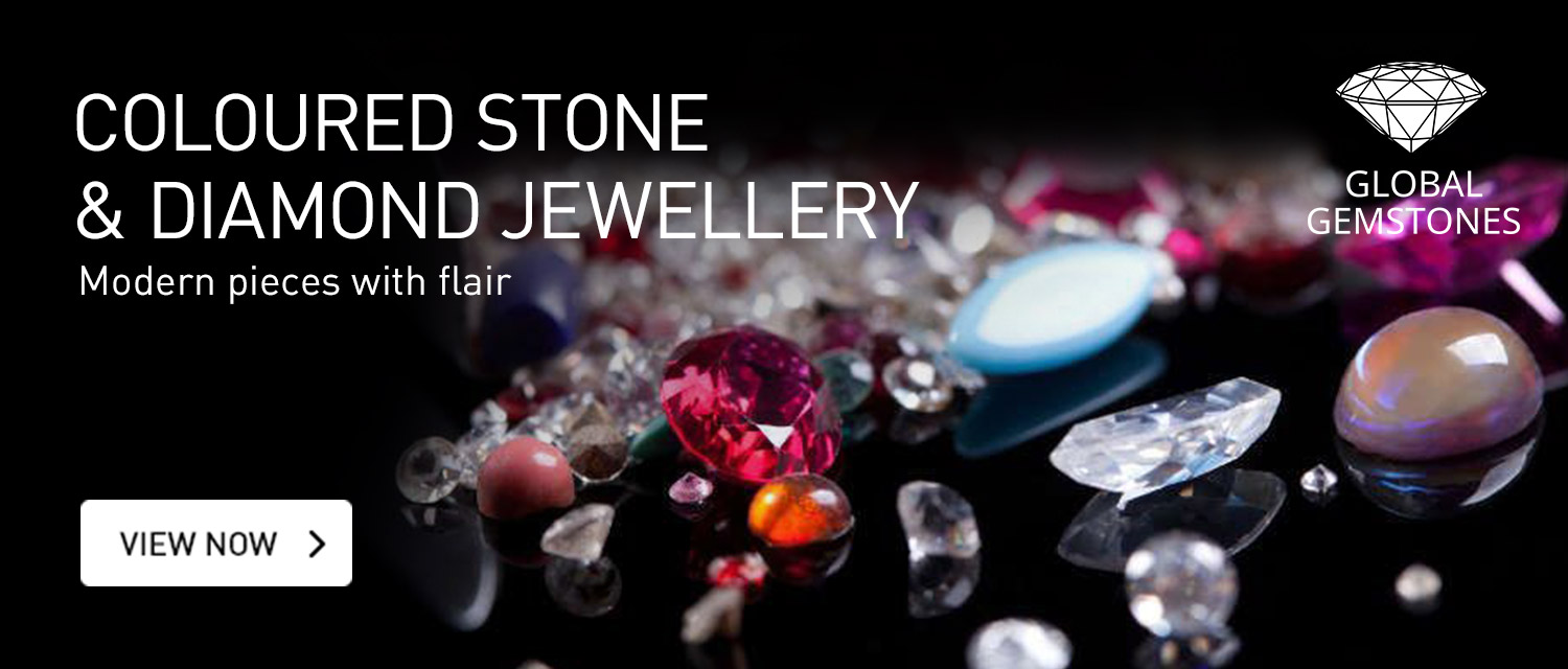 Coloured Stone, gems and Diamond Jewellery