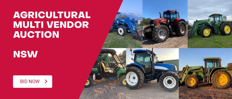 Agricultural Multi Vendor Auction - NSW