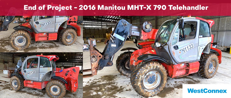 2016 Manitou MHT-X 790 Telehandler