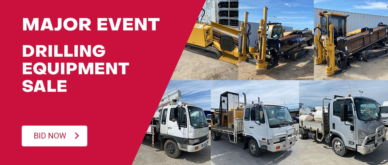 Major Event - Drilling Equipment Sale