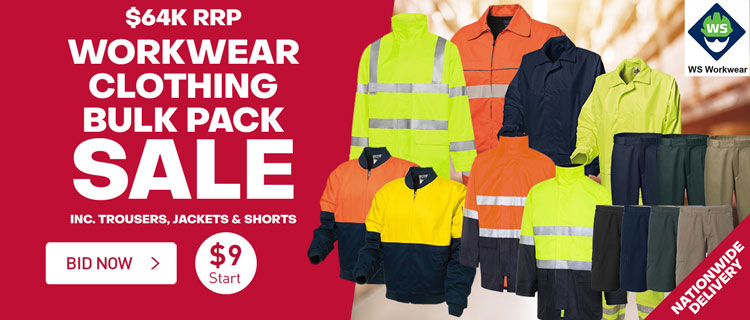 Workwear Clothing Bulk Pack Sale