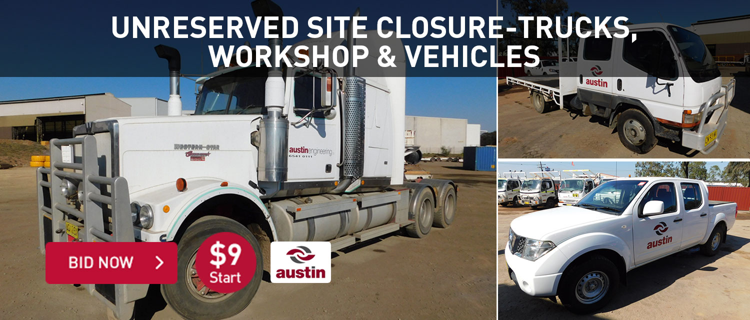 Unreserved site closure - Turcks, workshop and vehciles