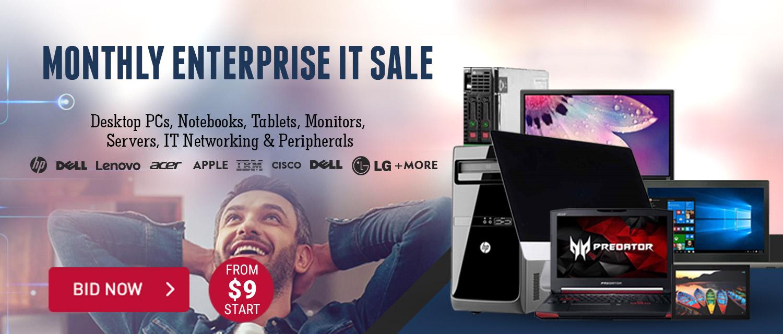 Monthly Enterprise IT Sale