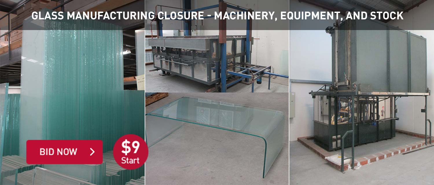 Glass Manufacturing Closure - Machinery, Equipment, and Stock