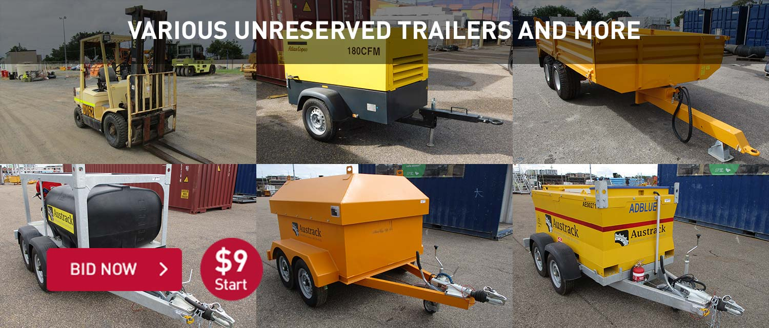 Various Unreserved Trailers and More