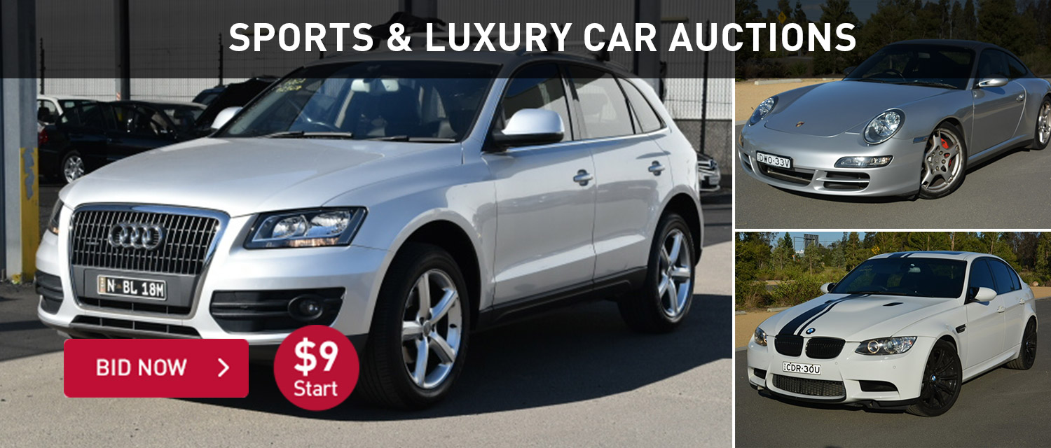 Sports and Luxury Car Auctions