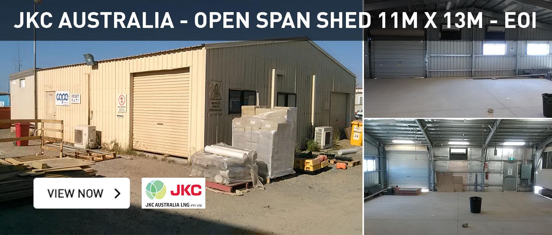 JKC Australia Open SPAN Shed