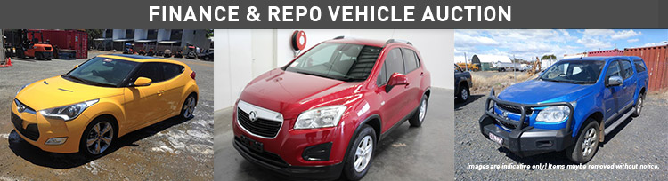 Finace and Repo Vehicle Auction