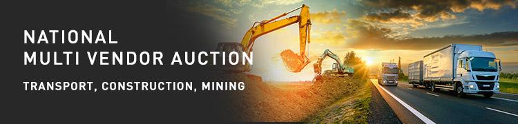 National Multi Vendor Auction   Transport, Construction & Mining