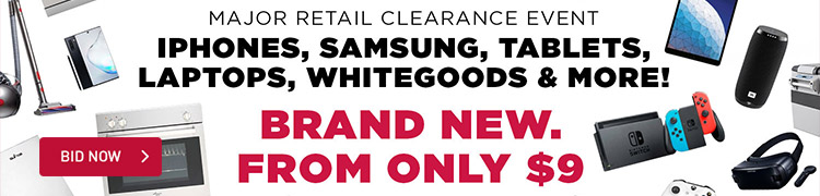Major Retailer Clearance Sale
