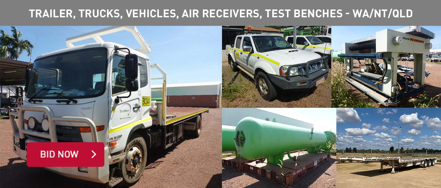 Trailer, Trucks, Vehicles, Air Receivers, Test Benches