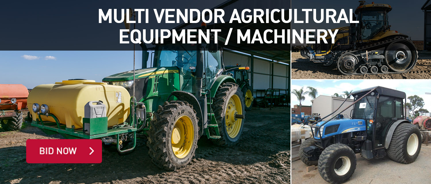 Multi Vendor Agricultrual Equipment/Machinery
