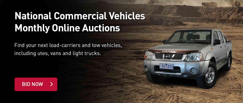 Commercial Vehilces Auctions