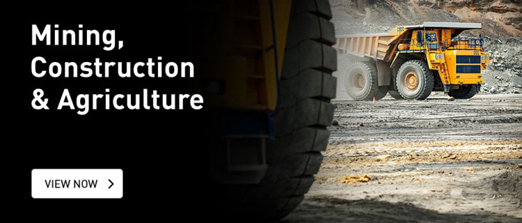 Mining, Construction and Agriculture