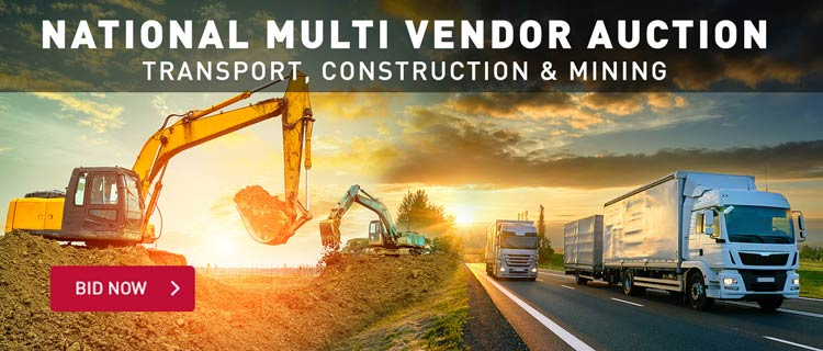 National Multi Vendor Auction - Transport, Construction