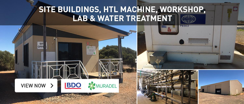 Site Building, HTL Machine , Workshop, Lab & Water Treatment