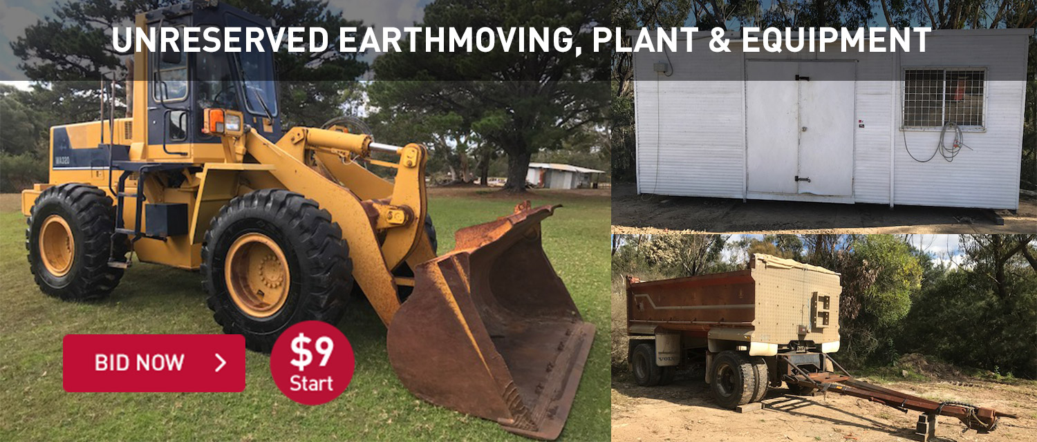 Earth Moving and Mobile Plant - Buy Earth Moving and Mobile Plant