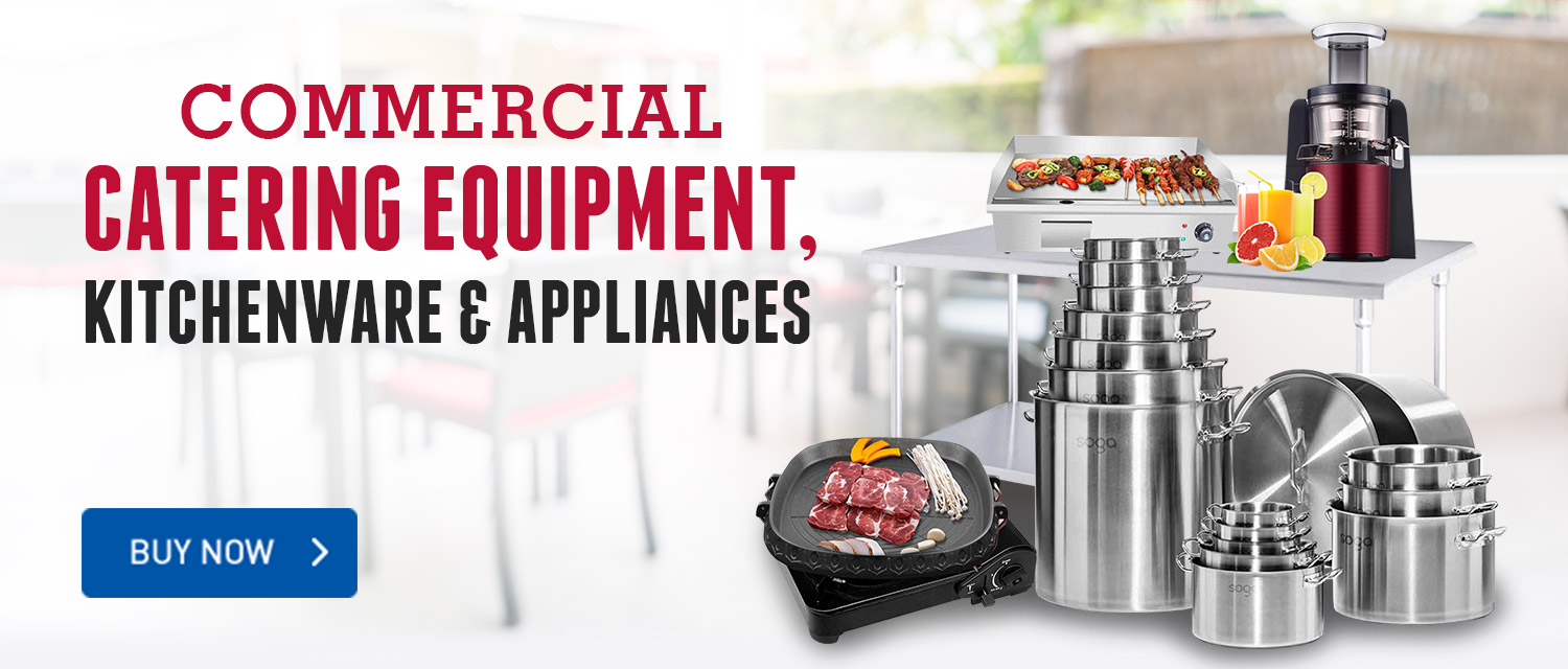 Commercial Catering Equipment. Kitchenware & Appliances