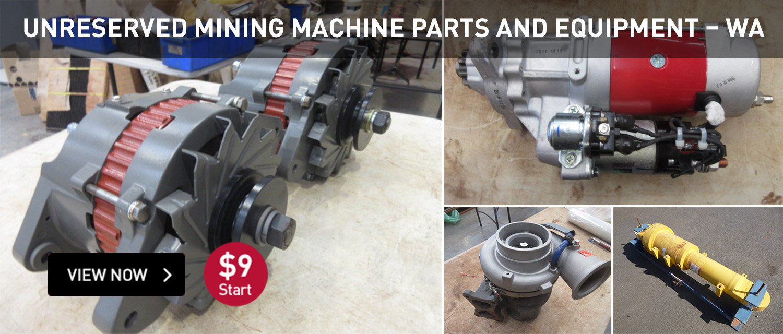 Unrserved Mining Machine Parts and Equipment WA