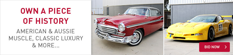American & Aussie Muscle - Classic Cars Auction