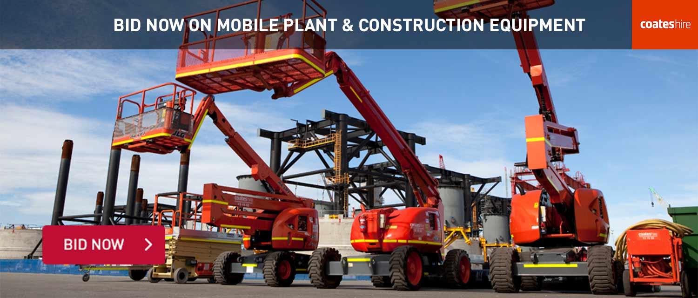 Mobile Plant & Equipment Auction