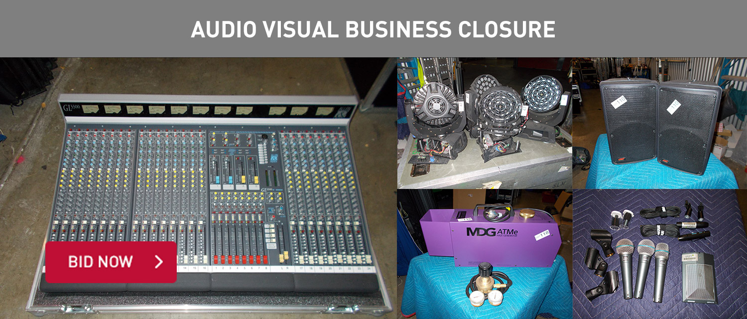 Audio Visual Business Closure