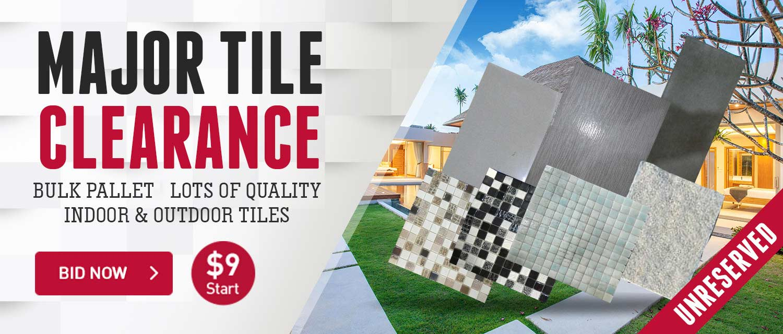 Major Tile Clearance