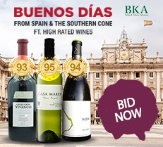 Wine from Spain and the southern Cone