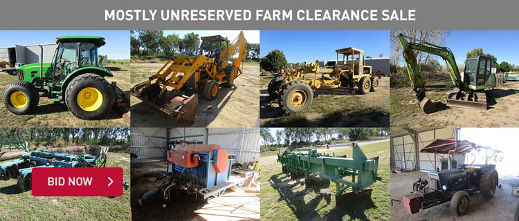 Mostly Unreserved Farm Clearance Sale