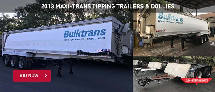 2013 Maxi-Trans Tipping Trailers & Dollies