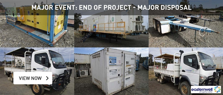 Major Event: End of Project - Major Disposal