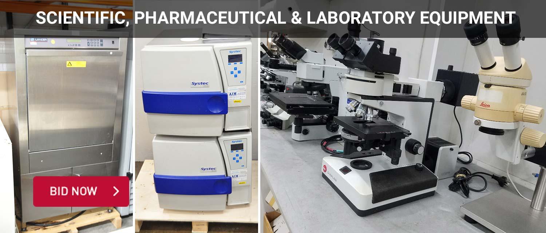 Scientific, Pharmaceutical & Laboratory Equipment