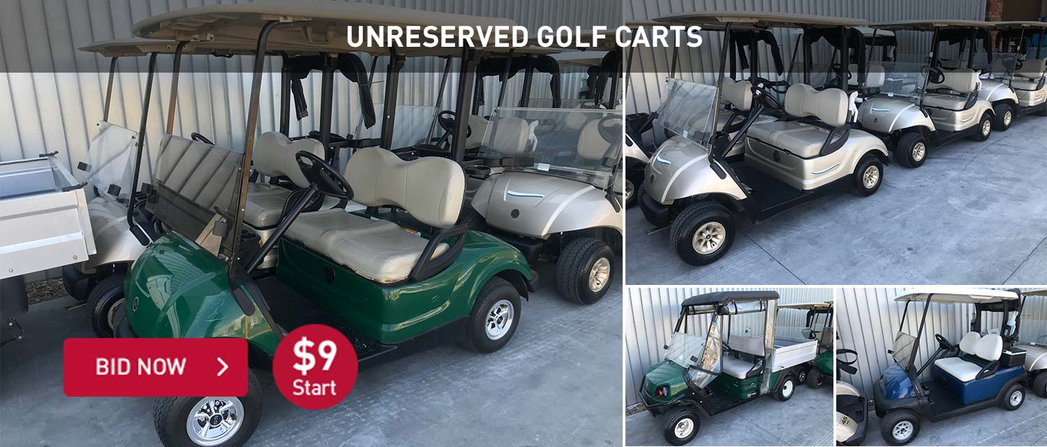 Unrserved Golf Carts