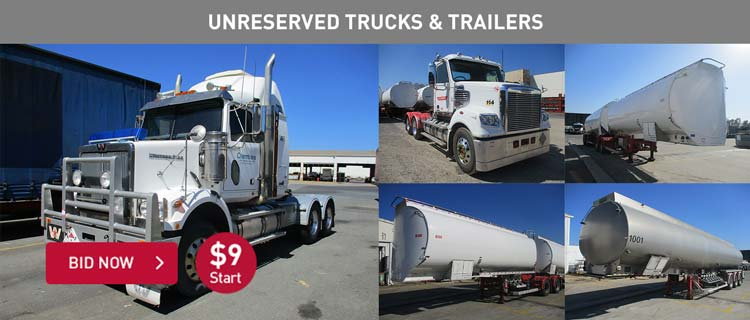 Unreserved Trucks & Trailers