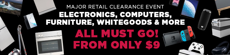 Major Retail Clearance Event