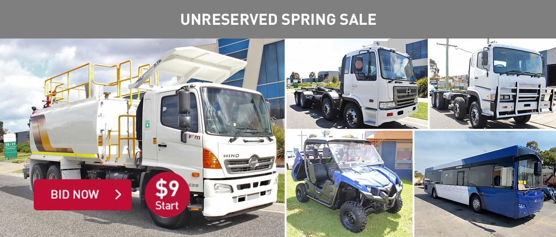 Unrserved Spring Sale