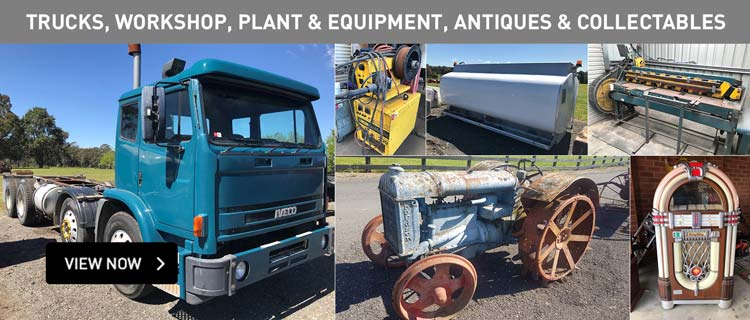 Trucks, Workshop, Plant & Equipment, Antiques & Collectables