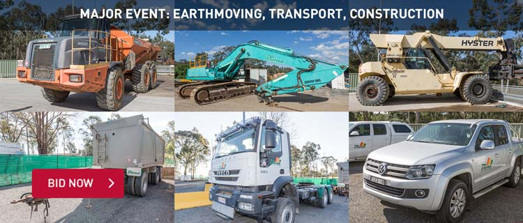 Major Event: Earthmoving, Transport, Construction