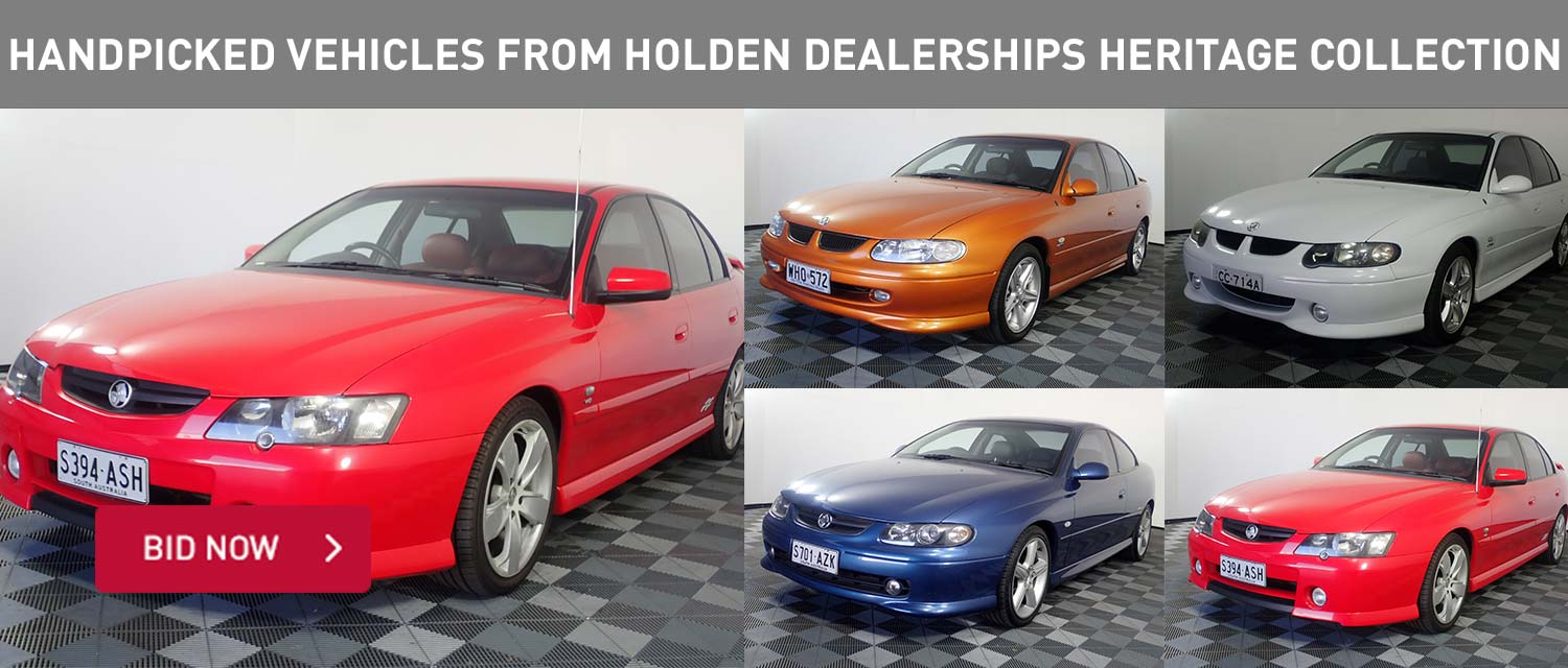 Handpicked Vehicles from Holden Dealership Heritage Collection