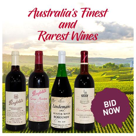 Austrlia's Finest and Rarest Wines