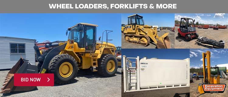 Wheel Loaders, Forklifts & More