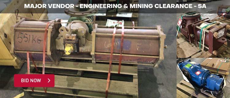 Major Vendor - Engineering & Mining Clearance - SA