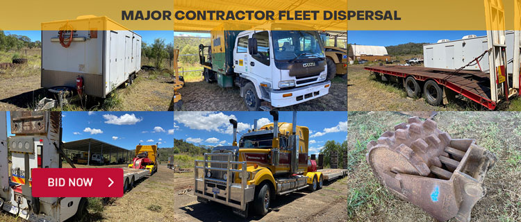 Major Contractor Fleet Dispersal