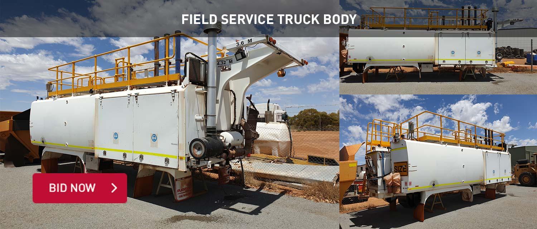 Field Service Truck Body