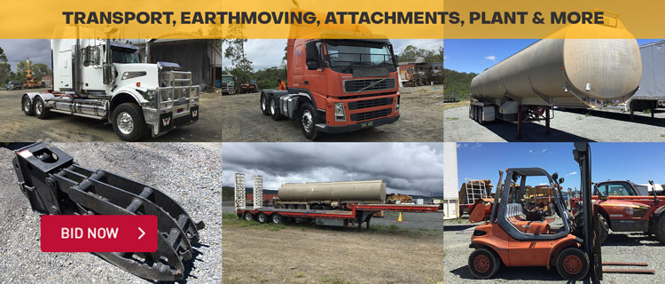 Transport, Earthmoving, Attachments, Plant & More